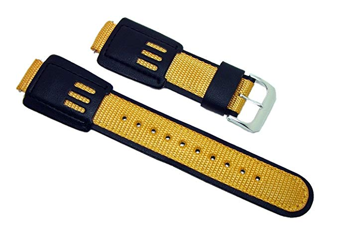 G-Shock Speidel 16 mm watchband Nylon and leather